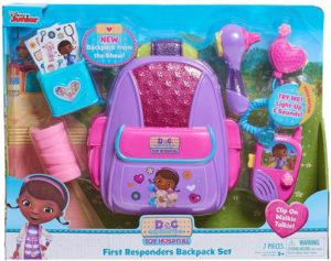 Doc McStuffins Just Play First Responders Backpack Set Only $9.72 (Reg. $20)! Lowest Price!