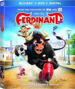 Ferdinand DVD + Blu-Ray + Digital Only $9.99! Best Price!