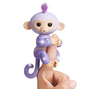 Fingerlings Purple Glitter Monkey Kiki Only $14.79! Lowest Price!