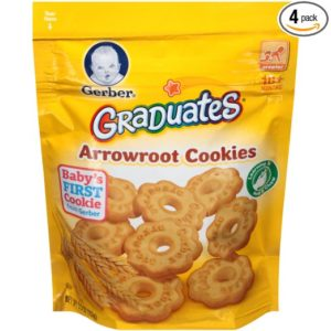 Gerber Graduates Arrowroot Cookies Pouch (Pack of 4) as low as $4.84 Shipped!