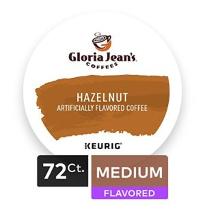 Gloria Jean's Hazelnut Keurig Single-Serve K-Cup Pods 72 Count as low as $25.82 Shipped! ($0.36/cup)