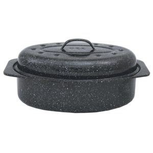 Granite Ware Covered Oval Roaster Only $5.91!
