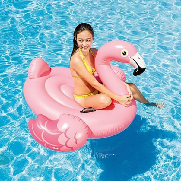 Flamingo Inflatable Ride-On