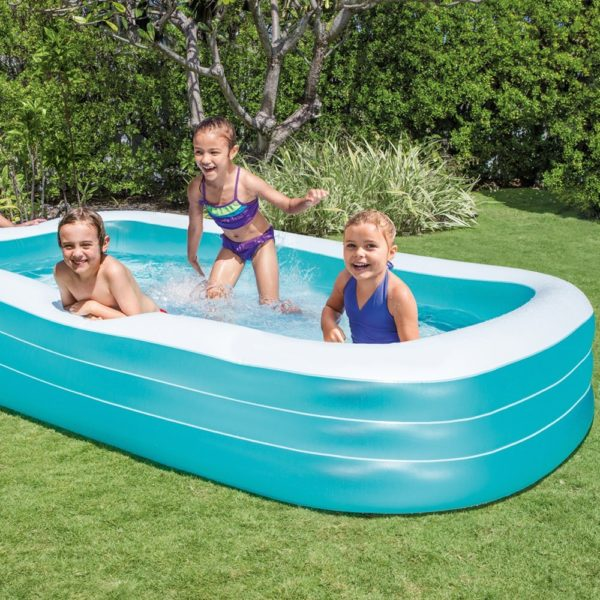 Intex Swim Center Family Inflatable Pool Only Reg 40 Best Price Become A Coupon Queen