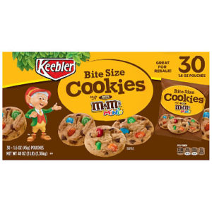 Keebler M&M Cookies 30 count Only $4.76! ($0.16 each)