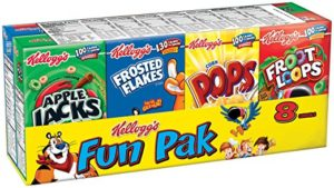 Kellogg's Fun Pack Cereal as low as $1.98!