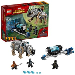 LEGO Marvel Super Heroes Rhino Face-Off by the Mine Building Kit Only $13.99! Lowest Price!