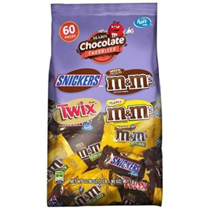 MARS Chocolate Favorites Fun Size Candy Bars 60-Pieces Only $5.19!