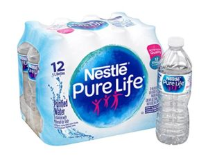 Nestle Pure Life Purified Water 12 count Only $1.96!