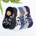 Non-Slip Socks - Leopard Print Only $3.99!
