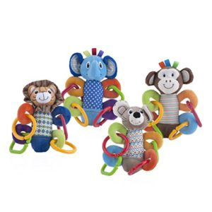 Nuby Squeeze N' Squeak Plush Toy Only $3.00! (was $10.99)