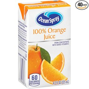 Ocean Spray 100% Orange Juice Juice Boxes (Pack of 40) as low as $7.53 Shipped!