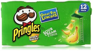 Pringles Sour Cream and Onion Snack Stacks, 12 count Only $3.21!