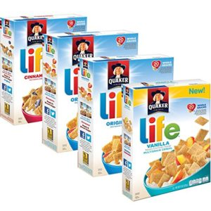 Quaker Life Breakfast Cereal Variety Pack 4 Boxes as low as $5.86 Shipped!