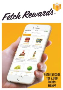 Get 2,000 Points on Your First Receipt in the Fetch Rewards App! (= $2 FREE!)