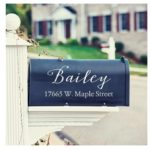 Mailbox Name and Address Vinyl Decal Only $8.99! (was $15.99)