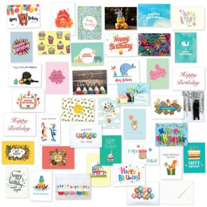 40 Assorted Birthday Cards Only $10.77 – $0.26 Each! Best Price!