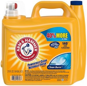 Arm & Hammer Laundry Detergent HE 140 Loads Only $9.98! ($0.07/load)