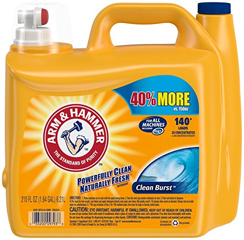 Arm & Hammer Laundry Detergent as low as $0.06 per Load!