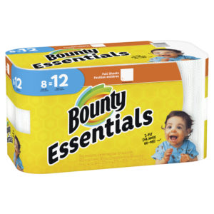 Target: Bounty Essentials Paper Towels Only $0.18/roll!