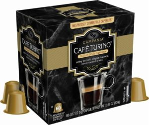 Café Turino Espresso Capsules 60ct Only $19.99 Today!