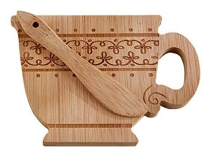 Super Cute Kate Aspen Teacup-Shaped Cheeseboard & Spreader Only $6.33! Best Price!