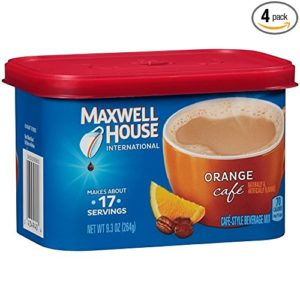 Maxwell House International Coffee Orange Cafe, Pack of 4 as low as $10.06 Shipped!