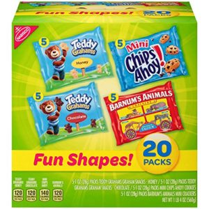 Nabisco Cookies & Crackers Variety Pack Fun Shapes Mix 20 count as low as $6.28 Shipped!