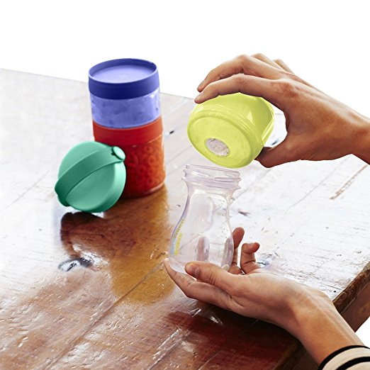 Skip Hop Baby Grab and Go 7-Piece Formula-to-Food Container Mealtime Set