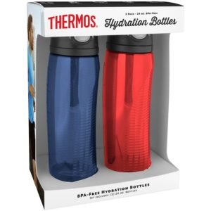 Thermos 24-oz. Hydration Water Bottle, 2 pack Only $7.48!