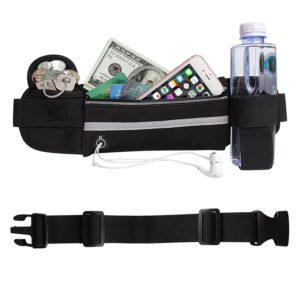 Waist Pack with Pockets and Water Bottle Holder Only $8.99! Best Price! Great for Runners!
