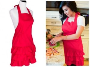 Flirty Aprons Women's Marilyn Salon Apron Only $7.00 Shipped! (was $22.95)