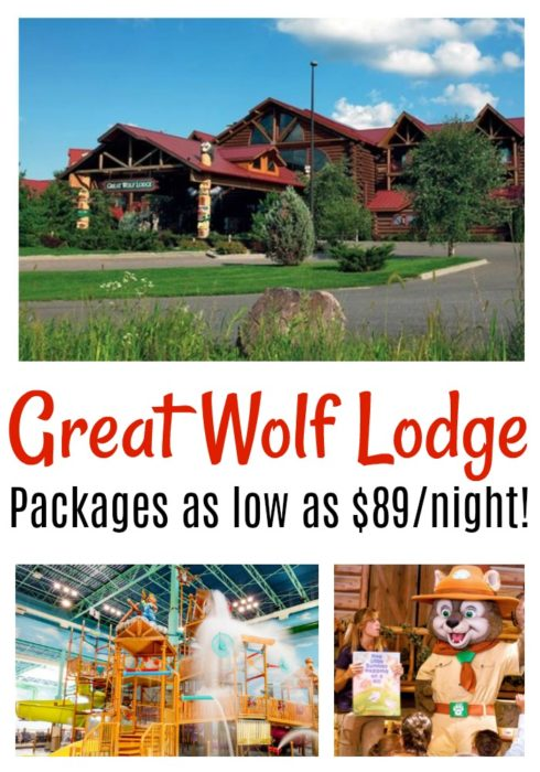 Great Wolf Lodge Resort Package As Low As 89 Night Become A Coupon Queen