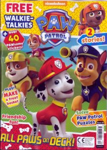 Paw Patrol Magazine Subscription Only $14.99!