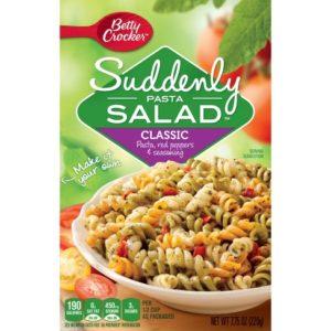 Kroger: Betty Crocker Suddenly Salad Only $0.75!