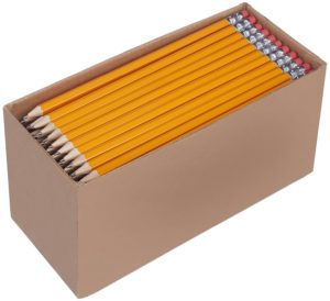 AmazonBasics Pre-Sharpened #2 Pencils 150-Count Only $12.26 – $0.08 per Pencil!