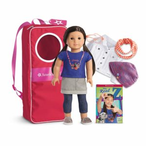 American Girl Z Doll, Accessories & Backpack Collection – $132.75! (reg. $177)