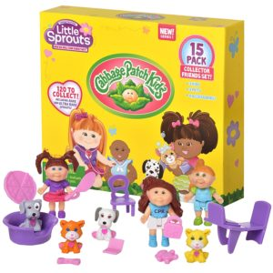 Cabbage Patch Kids Little Sprouts Friends Set 15-count Only $4.58!