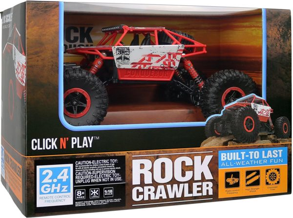 Remote Control Off Road Rock Crawler Vehicle Only 17 99