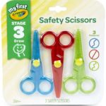 Crayola My First Safety Scissors 3-Pack Only $4.39!