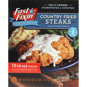 Sam's Club: Fast Fixin' Country Fried Steaks with Gravy Only $9.78!