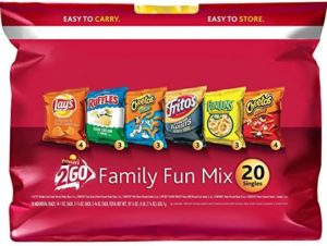 Frito-Lay Family Fun Mix Variety Pack 20 Count Only $5.98!