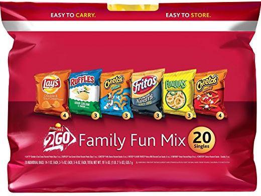 Frito-Lay Family Fun Mix Variety Pack