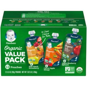 Sam's Club: Gerber Organic 2nd Foods 12ct Only $10.48!