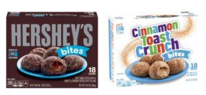 Meijer: Hershey's Donut Bites and Cinnamon Toast Crunch Bites Only $0.75!