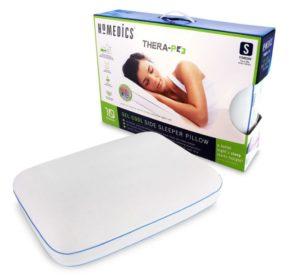 Homedics Thera-P+ Memory-Foam Side Sleeper Pillow, 2-Pack Only $19.98! (Was $49.98)