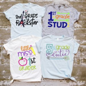 Kids Back To School Tees Only $13.99!