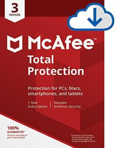 McAfee Total Protection Download – 3 Devices – Only $15.99!