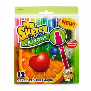 Mr. Sketch Scented Twistable Crayons 12 Ct. Only $4!
