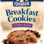 6 Boxes of Oatmeal Raisin Quaker Breakfast Cookies Only $15.76 - $2.63 per Box!
